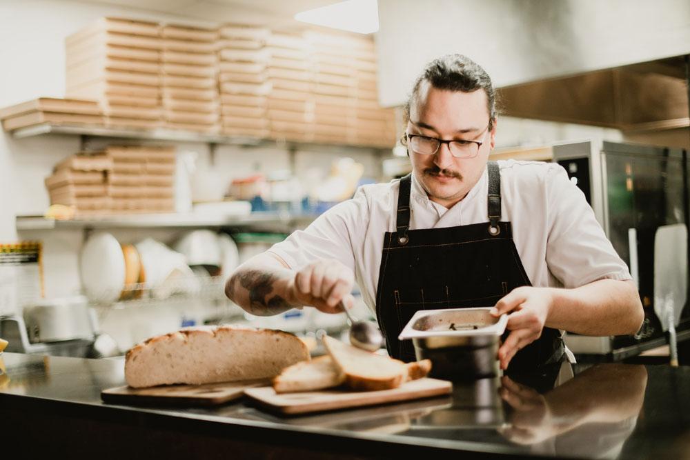 Head Chef, James, Pizzeria Villaggio