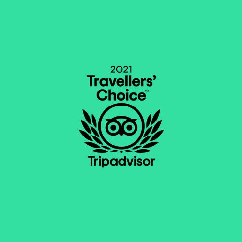 Tripadvisor Travellers' Choice Award 2021